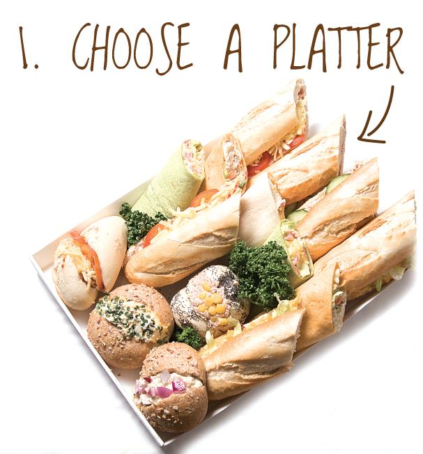 Choose a KITCHEN platter