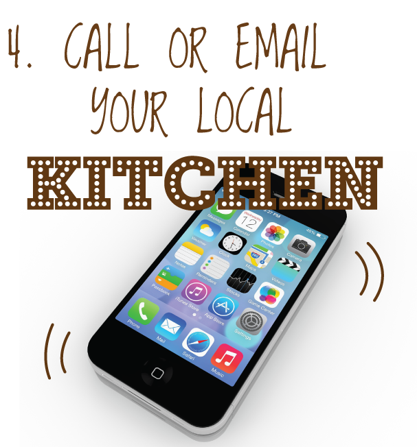 Contact your local KITCHEN